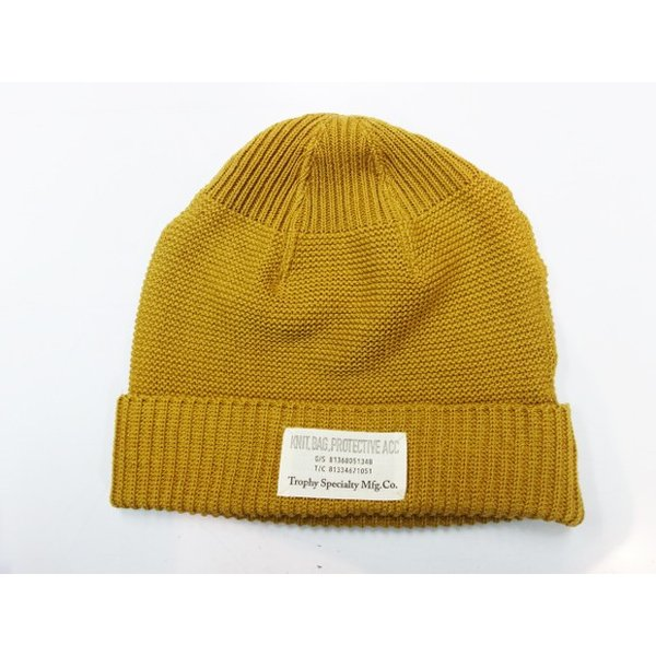 TROPHY CLOTHING トロフィークロージング ニットキャップ Red Cross Knit Cap|moveclothing|05