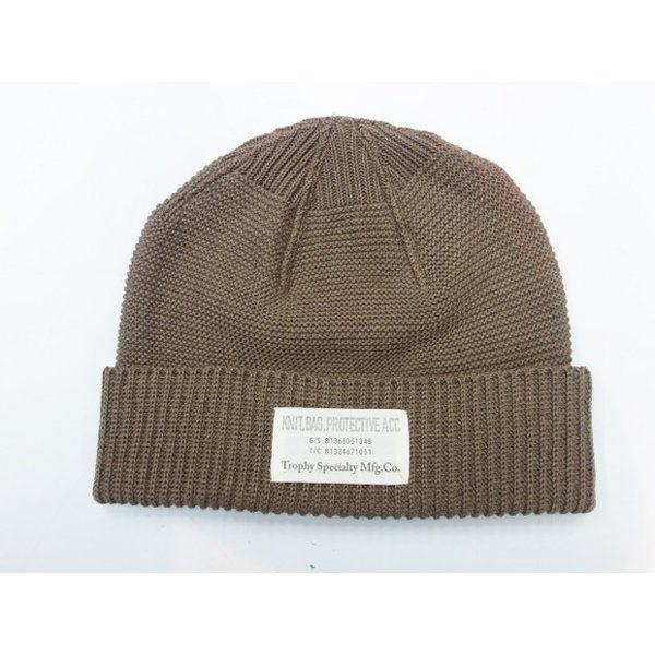 TROPHY CLOTHING トロフィークロージング ニットキャップ Red Cross Knit Cap|moveclothing|06
