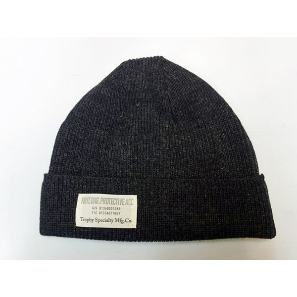 TROPHY CLOTHING トロフィークロージング ニットキャップ WOOL WATCHMAN CAP|moveclothing|03