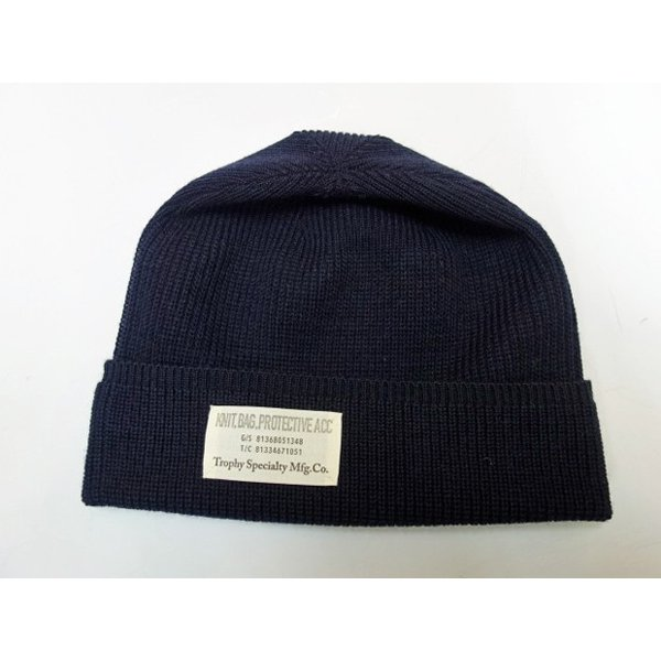 TROPHY CLOTHING トロフィークロージング ニットキャップ WOOL WATCHMAN CAP|moveclothing|04