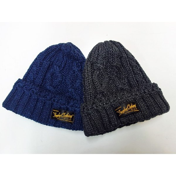 TROPHY CLOTHING トロフィークロージング ニットキャップ FISHERMAN KNIT CAP|moveclothing