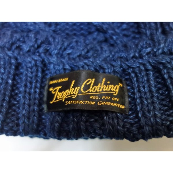 TROPHY CLOTHING トロフィークロージング ニットキャップ FISHERMAN KNIT CAP|moveclothing|02