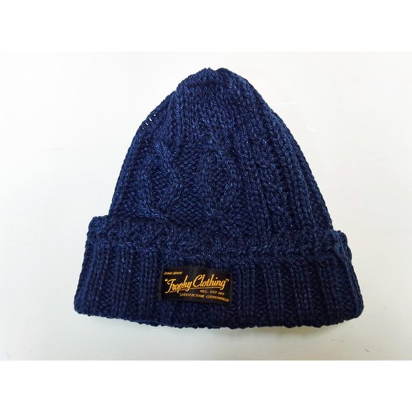 TROPHY CLOTHING トロフィークロージング ニットキャップ FISHERMAN KNIT CAP|moveclothing|05