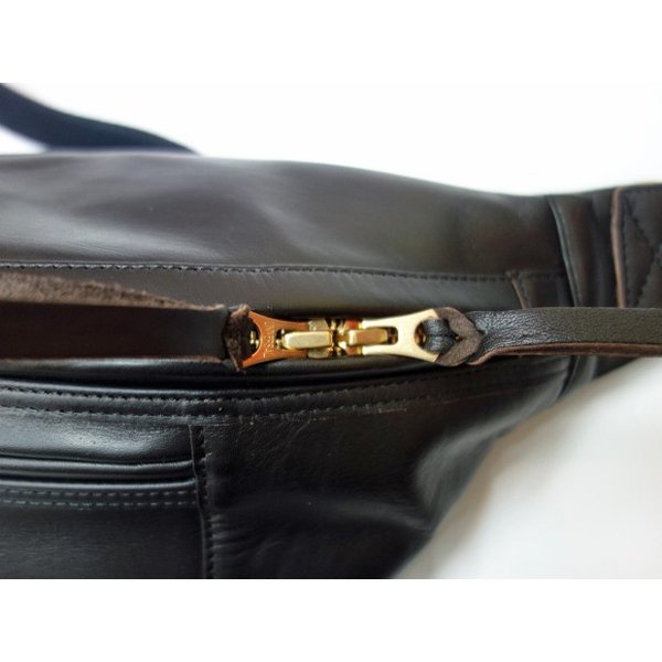 TROPHY CLOTHING トロフィークロージング バッグ Horsehide Day Trip Bag BLACK moveclothing 02