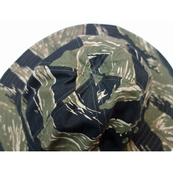 TROPHY CLOTHING トロフィークロージング 帽子 RIP STOP ARMY HAT|moveclothing|03