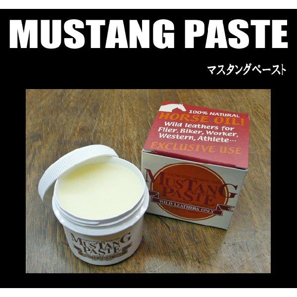 MUSTANG PASTE(マスタングペースト)・100ml|moveclothing