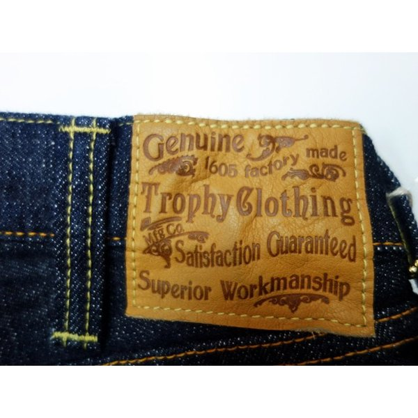 TROPHY CLOTHING トロフィークロージング ジーンズ 1608 W KNEE NARROW DIRT DENIM|moveclothing|07