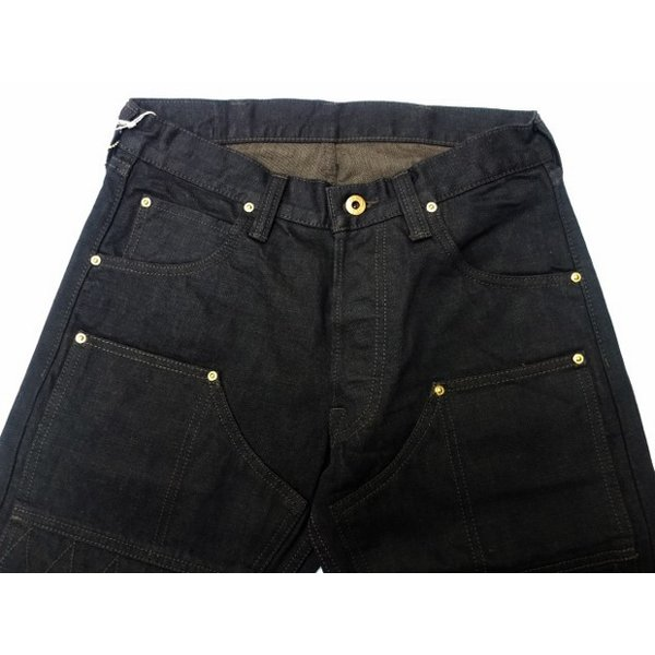 TROPHY CLOTHING トロフィークロージング ジーンズ 1908 W KNEE NARROW BLACKIE DENIM|moveclothing|02