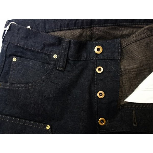 TROPHY CLOTHING トロフィークロージング ジーンズ 1908 W KNEE NARROW BLACKIE DENIM|moveclothing|03