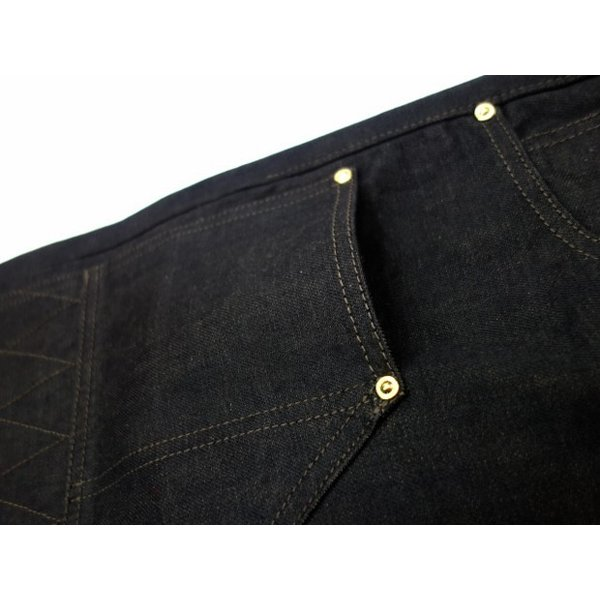 TROPHY CLOTHING トロフィークロージング ジーンズ 1908 W KNEE NARROW BLACKIE DENIM moveclothing 04