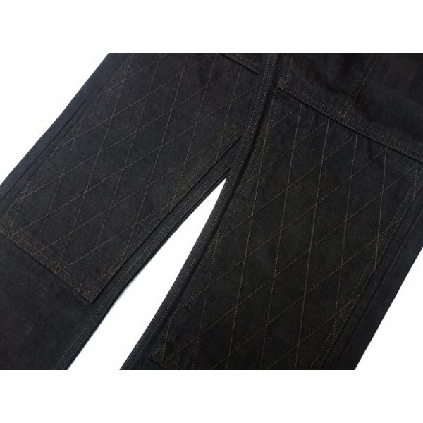 TROPHY CLOTHING トロフィークロージング ジーンズ 1908 W KNEE NARROW BLACKIE DENIM moveclothing 05