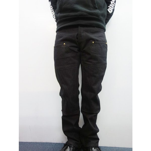 TROPHY CLOTHING トロフィークロージング ジーンズ 1908 W KNEE NARROW BLACKIE DENIM moveclothing 10