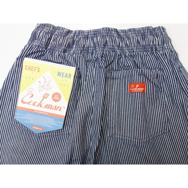 COOKMAN クックマン パンツ シェフパンツ Chef Pants 【Hickory】|moveclothing|04