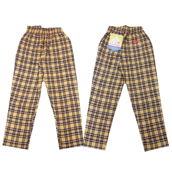COOKMAN クックマン パンツ シェフパンツ Chef Pants Corduroy Tartan 【BEIGE】|moveclothing