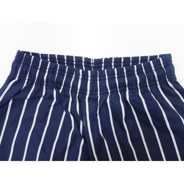 COOKMAN クックマン パンツ シェフパンツ Chef Pants Kids【Nevy stripe】|moveclothing|02