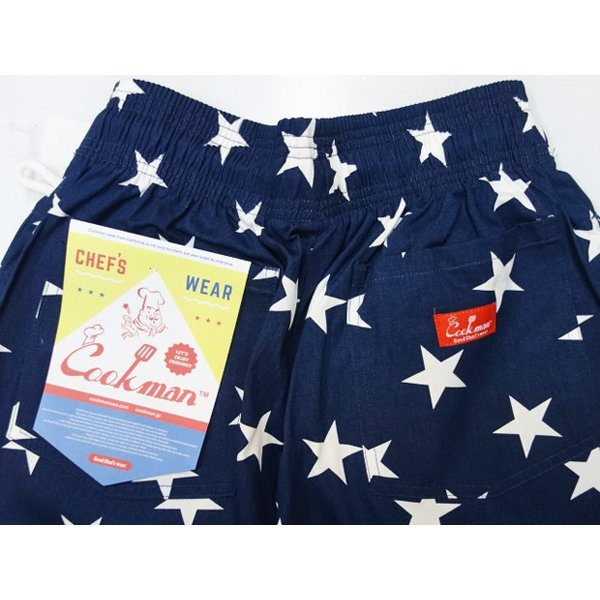 COOKMAN クックマン パンツ シェフパンツ Chef Pants 【Star Navy】|moveclothing|04
