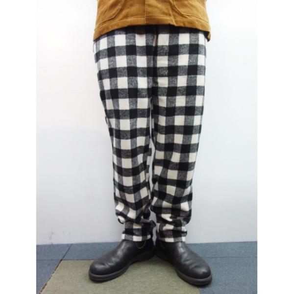 COOKMAN クックマン パンツ シェフパンツ Chef Pants 【Nel Buffalo Check】 White|moveclothing|06