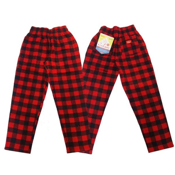 COOKMAN クックマン パンツ シェフパンツ Chef Pants 【Nel Buffalo Check】 Red moveclothing