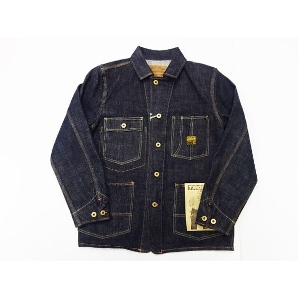 TROPHY CLOTHING トロフィークロージング カバーオール Dirt Denim Coverall 2604|moveclothing