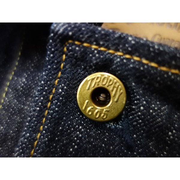 TROPHY CLOTHING トロフィークロージング カバーオール Dirt Denim Coverall 2604|moveclothing|04