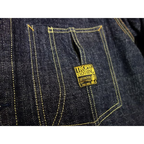 TROPHY CLOTHING トロフィークロージング カバーオール Dirt Denim Coverall 2604|moveclothing|06