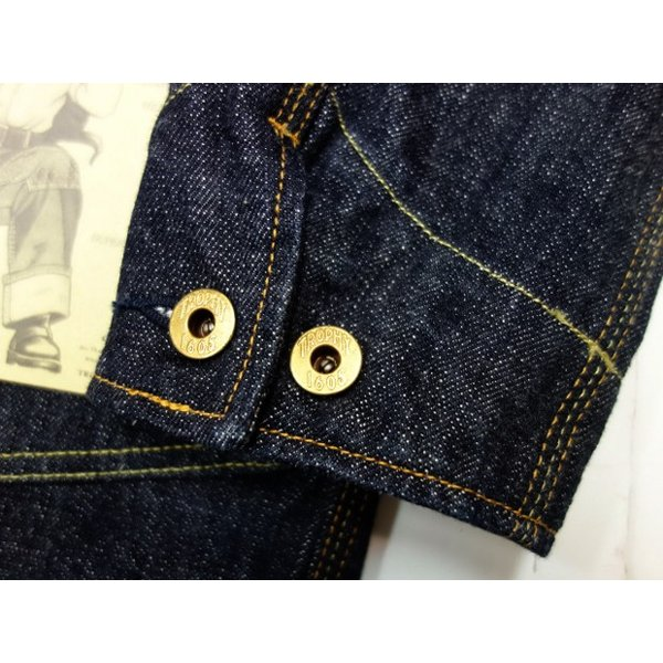 TROPHY CLOTHING トロフィークロージング カバーオール Dirt Denim Coverall 2604|moveclothing|07