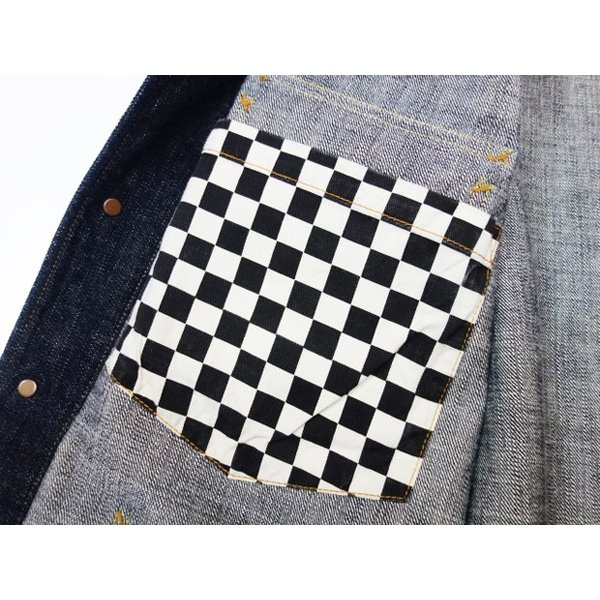 TROPHY CLOTHING トロフィークロージング カバーオール Dirt Denim Coverall 2604|moveclothing|08