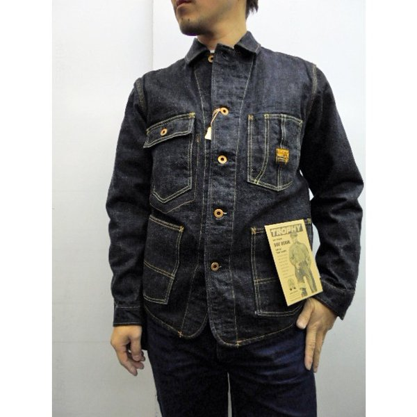 TROPHY CLOTHING トロフィークロージング カバーオール Dirt Denim Coverall 2604|moveclothing|09