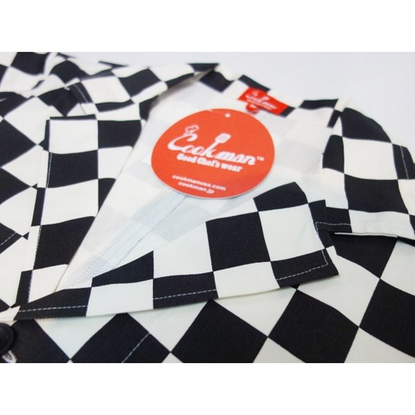 COOKMAN クックマン ジャケット Lab.Jacket 【Checker】|moveclothing|03