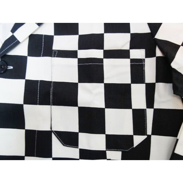 COOKMAN クックマン ジャケット Lab.Jacket 【Checker】|moveclothing|04
