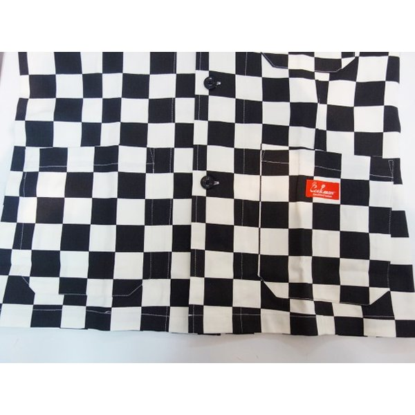 COOKMAN クックマン ジャケット Lab.Jacket 【Checker】|moveclothing|05