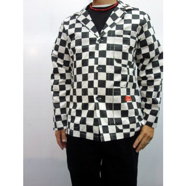 COOKMAN クックマン ジャケット Lab.Jacket 【Checker】|moveclothing|07