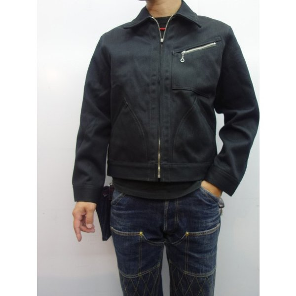 TROPHY CLOTHING トロフィークロージング ジャケット COVERT PIQUE 91B|moveclothing|09