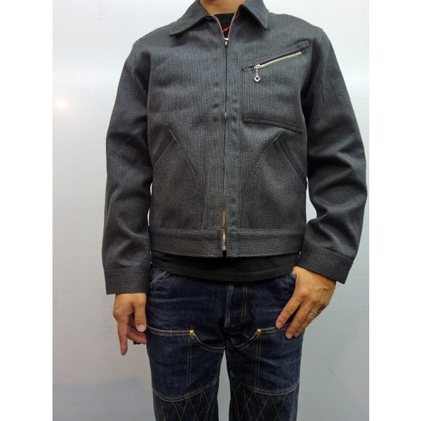 TROPHY CLOTHING トロフィークロージング ジャケット COVERT PIQUE 91B|moveclothing|10