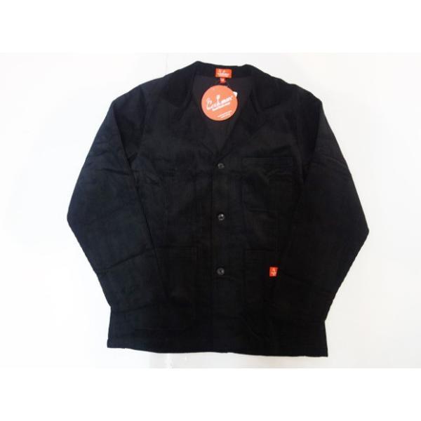 COOKMAN クックマン ジャケット Lab.Jacket Corduroy【BLACK】|moveclothing