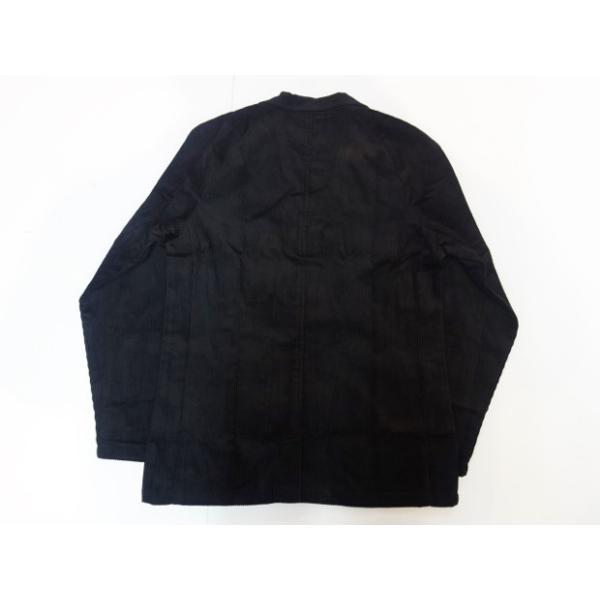 COOKMAN クックマン ジャケット Lab.Jacket Corduroy【BLACK】|moveclothing|02