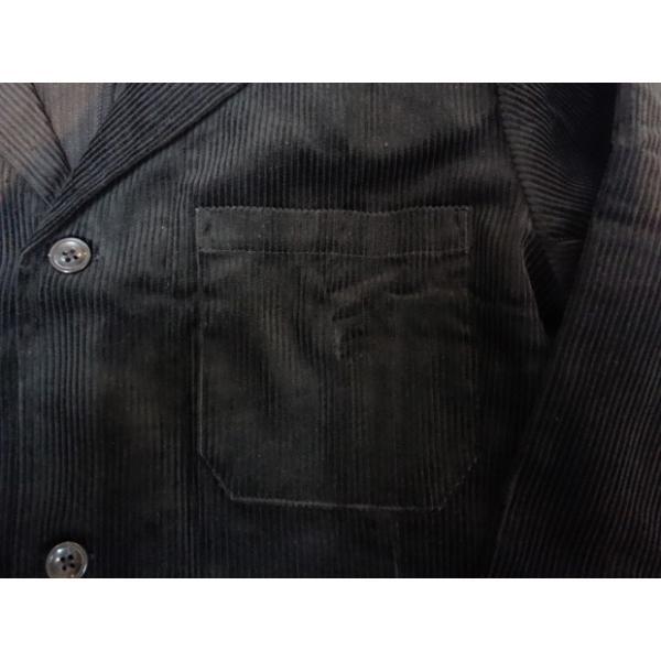 COOKMAN クックマン ジャケット Lab.Jacket Corduroy【BLACK】|moveclothing|04