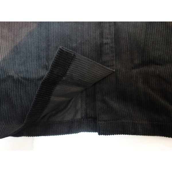 COOKMAN クックマン ジャケット Lab.Jacket Corduroy【BLACK】|moveclothing|06