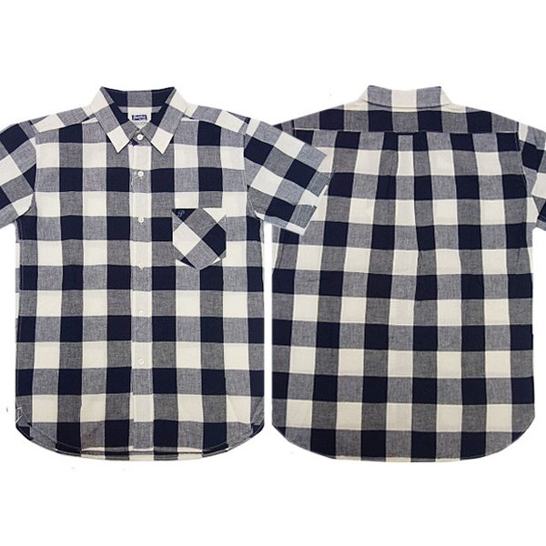 PHERROW'S フェローズ 半袖ボタンダウンシャツ 19S-PBDS2 moveclothing 03