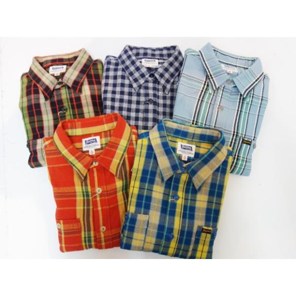PHERROW'S フェローズ ヘビーネルシャツ 19W-720WS|moveclothing