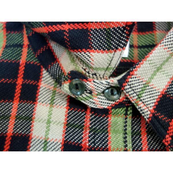 PHERROW'S フェローズ ヘビーネルシャツ 19W-720WS|moveclothing|02