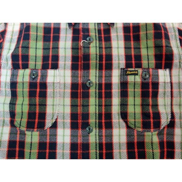PHERROW'S フェローズ ヘビーネルシャツ 19W-720WS|moveclothing|03