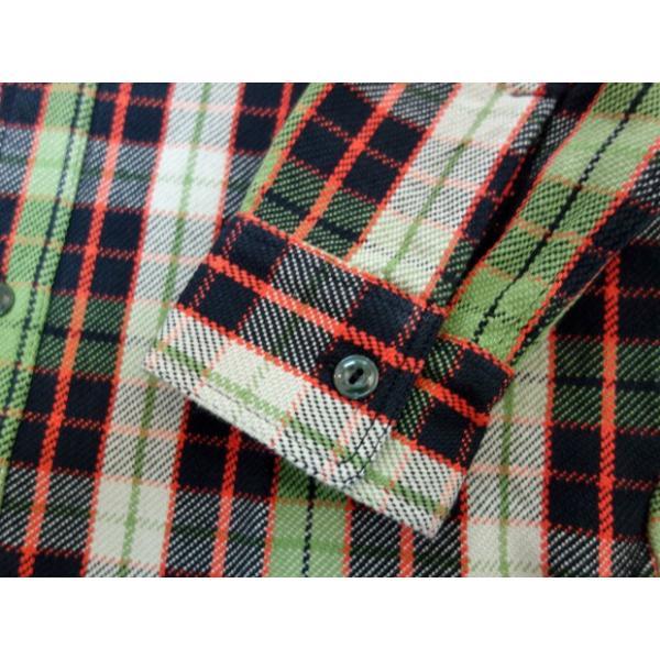 PHERROW'S フェローズ ヘビーネルシャツ 19W-720WS|moveclothing|04