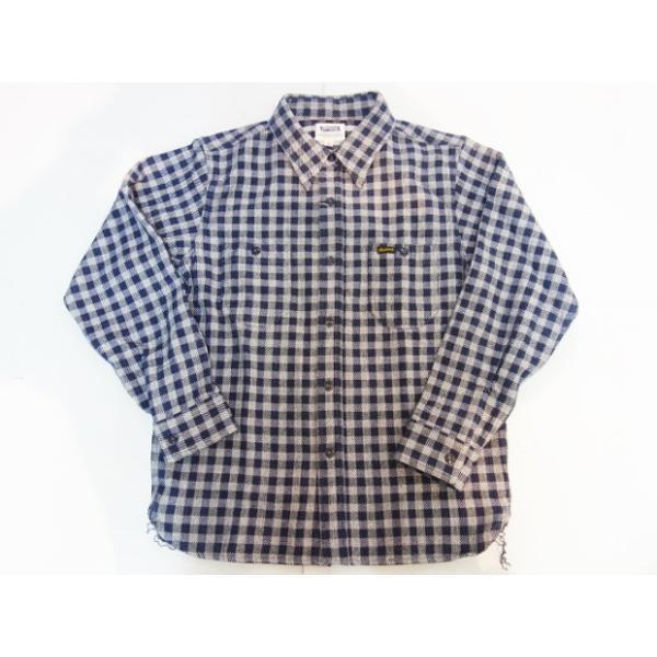 PHERROW'S フェローズ ヘビーネルシャツ 19W-720WS|moveclothing|06