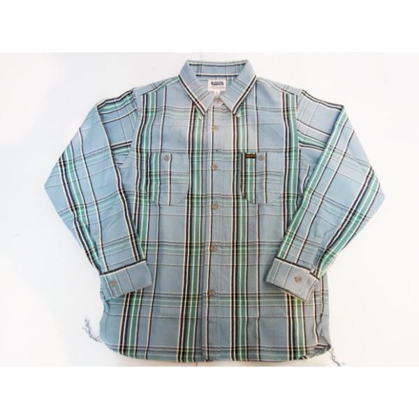 PHERROW'S フェローズ ヘビーネルシャツ 19W-720WS|moveclothing|08