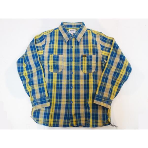 PHERROW'S フェローズ ヘビーネルシャツ 19W-720WS|moveclothing|09