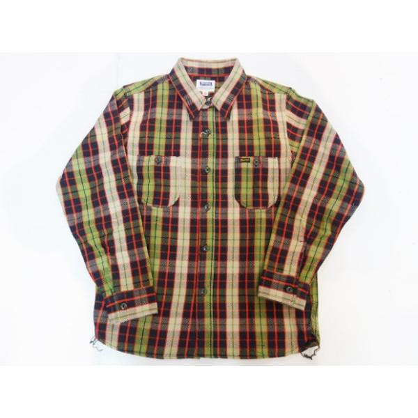 PHERROW'S フェローズ ヘビーネルシャツ 19W-720WS|moveclothing|10