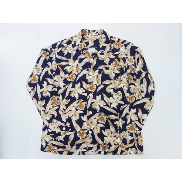TROPHY CLOTHING トロフィークロージング 長袖アロハシャツ DUKE L/S SHIRT|moveclothing