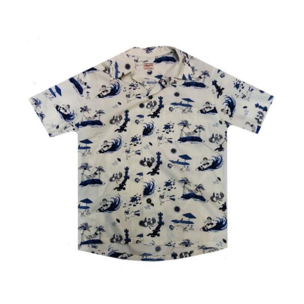 桃太郎ジーンズ アロハシャツ 06-091 moveclothing