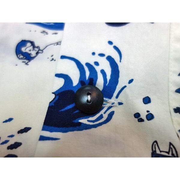 桃太郎ジーンズ アロハシャツ 06-091 moveclothing 04